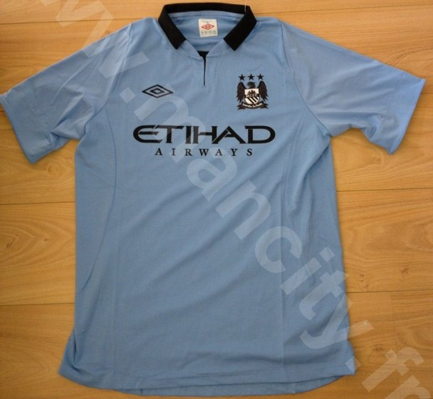 Man City Leaked Jersey 2013
