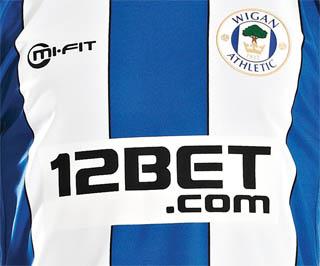 Mi Fit Wigan Athletic Home Shirt 2012 2013