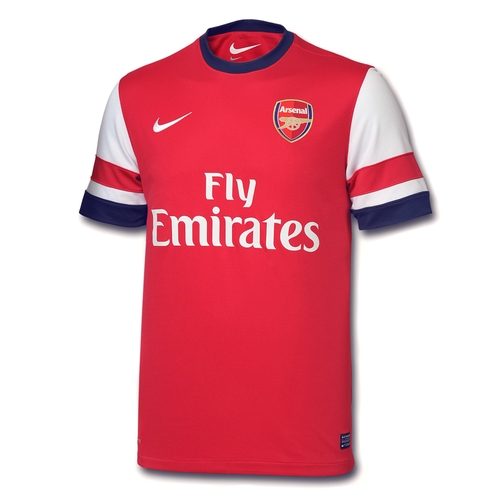 ARsenal thuisshirt 2012-2013