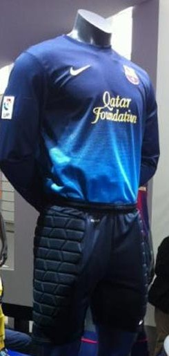 New Barca Goalkeeper Kit 12-13