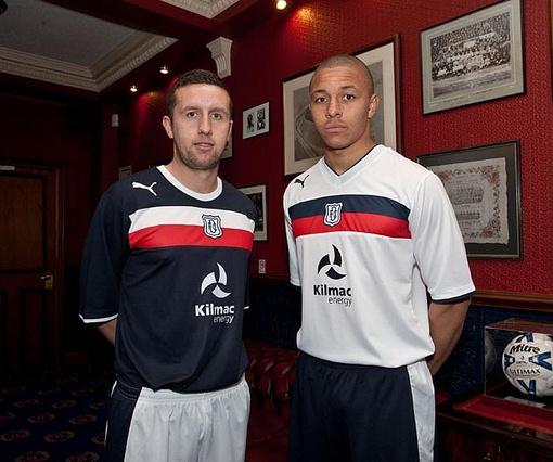 New Dundee FC Kits 2012-13
