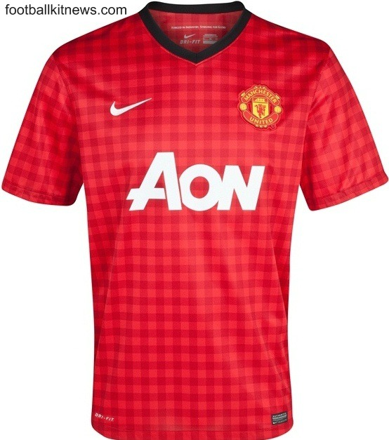 New Man Utd Top 2012-13