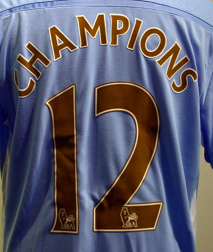 New Manchester City Premier League Winners Shirt