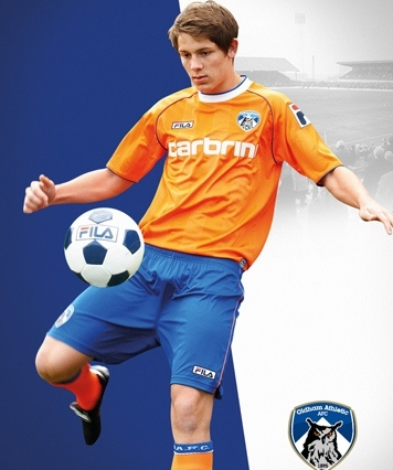 New Oldham Away Kit 2012-13