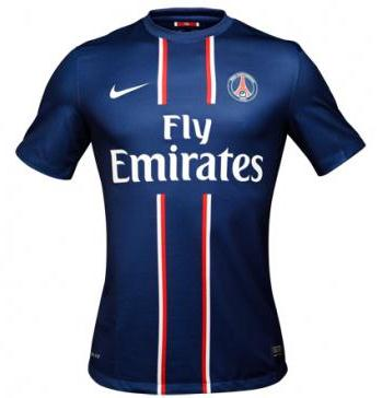 New PSG Kit 2012-2013- Nike Paris Saint-Germain Home Shirt 12-13