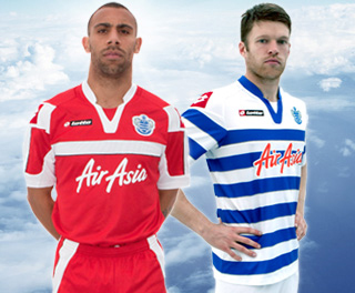 New qpr kits 12 13 lotto queens park rangers jersey home away 2012