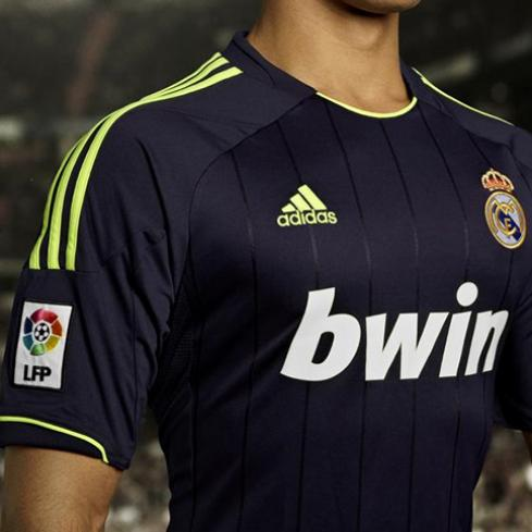 New Real Madrid Away Kit 12-13