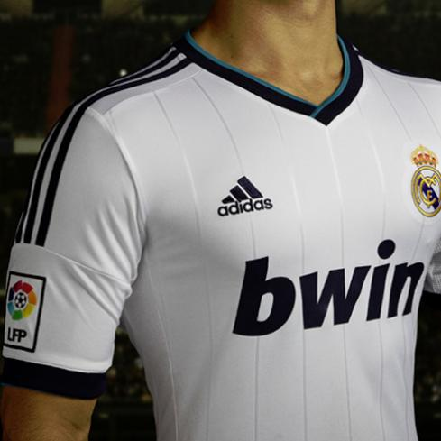 New Real Madrid Home Jersey 2012-13