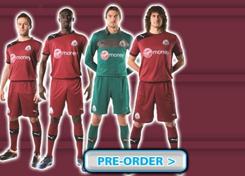 Newcastle Away Kit 12-13