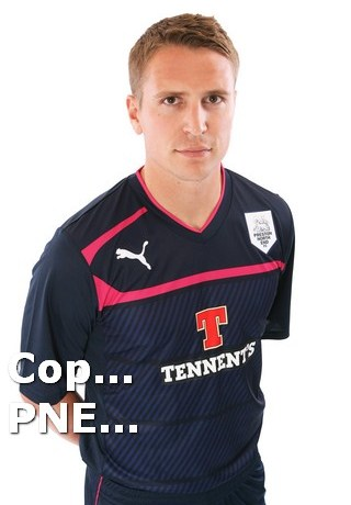 Preston Away Shirt 2012-13