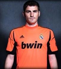 Real Madrid Goalkeper Jersey 12-13