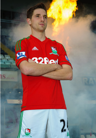 Red Swansea City Kit 2012-13