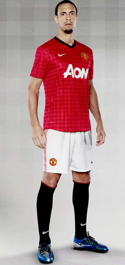 Rio Ferdinand Manchester United Kit 2013