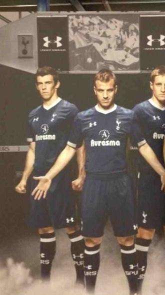 Spurs Away Kit 2013 Leaked