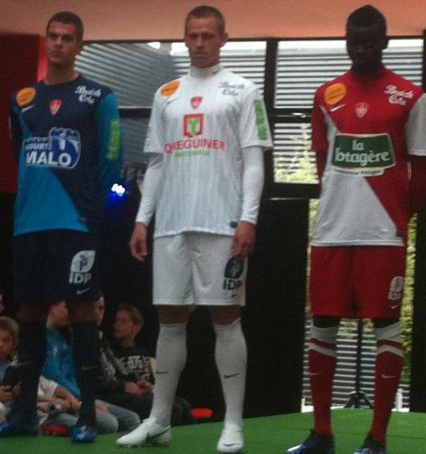 Stade Brestois Maillot 2013
