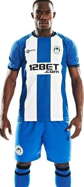 Wigan Athletic thuisshirt 2012/2013