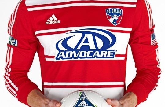 Advocare FC Dallas Jersey 2012