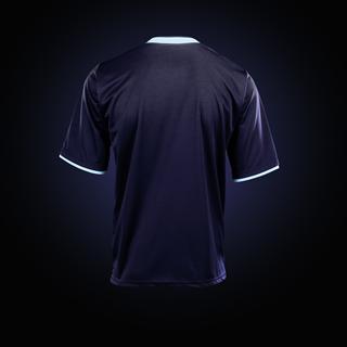 Blue Burnley Away Kit 2012 Back