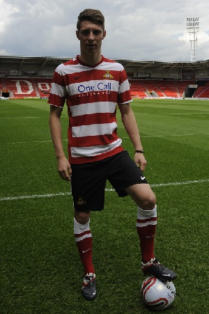 Doncaster Rovers Home Shirt 2012-13