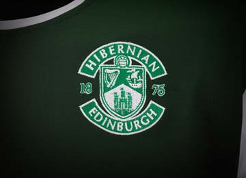 Hibs Home Kit 2012-13 Crest