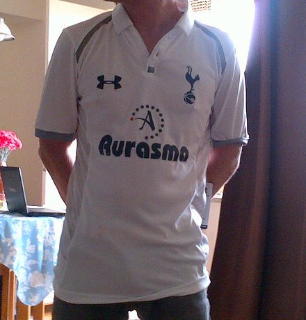 Leaked Spurs Home Kit 2013
