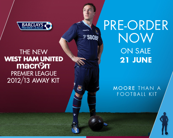 Macron West Ham Jersey 2012-2013