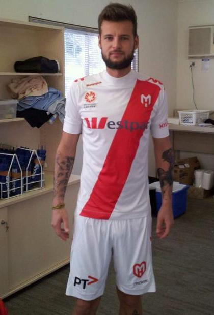 Melbourne Heart New Away Jersey 2012-13