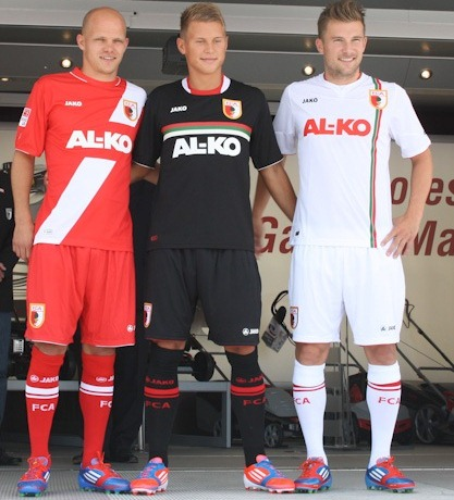 New Augsburg Soccer Jersey 2012-13