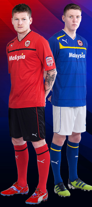 Cardiff City New Kit 2013
