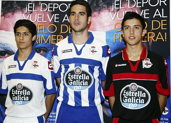 New Deportivo La Coruna Kits 2013