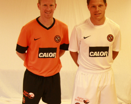 New Dundee United Strip 12-13 Nike