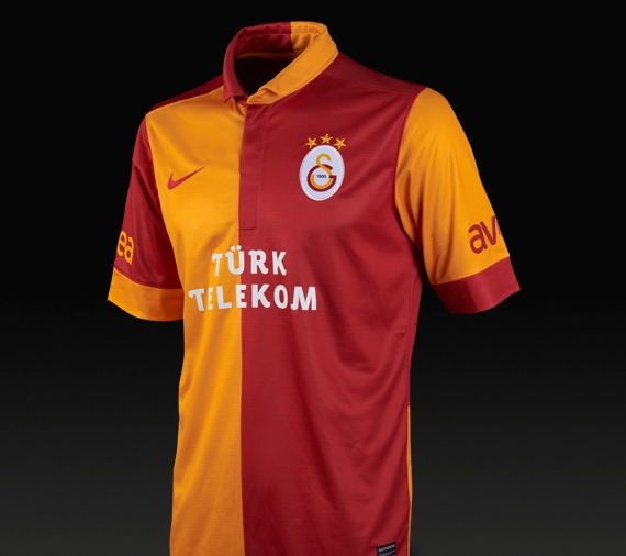 New Galatasaray Home Kit 2013