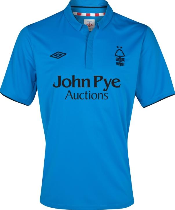 Umbro Nottingham Forest FC 2012-2013 Away Kit