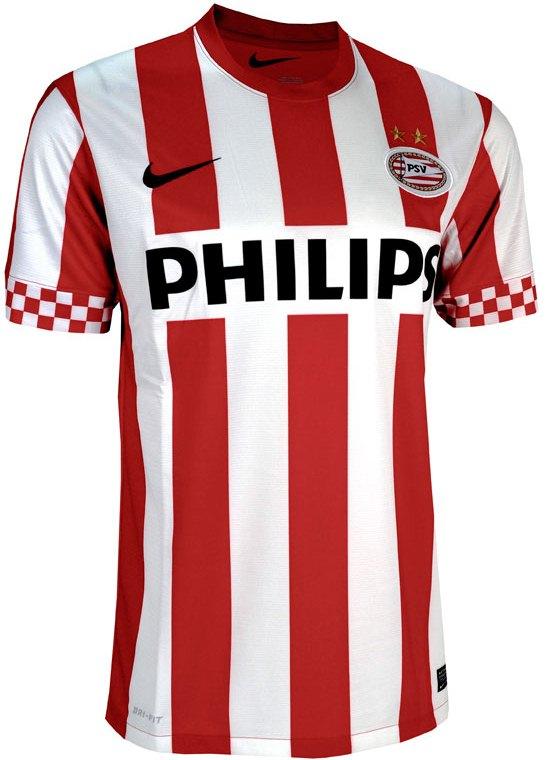 PSV thuisshirts 2012-2013