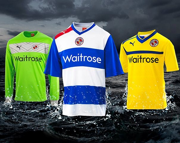 New Reading FC Kits 12-13