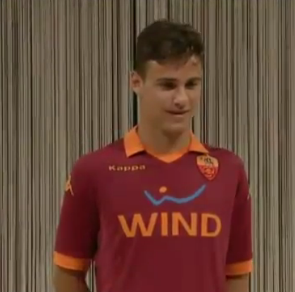 New Roma Jersey 2013