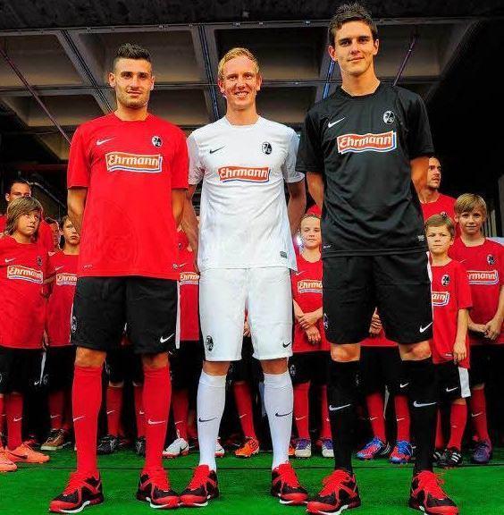 New SC Freiburg Kit 2012-2013