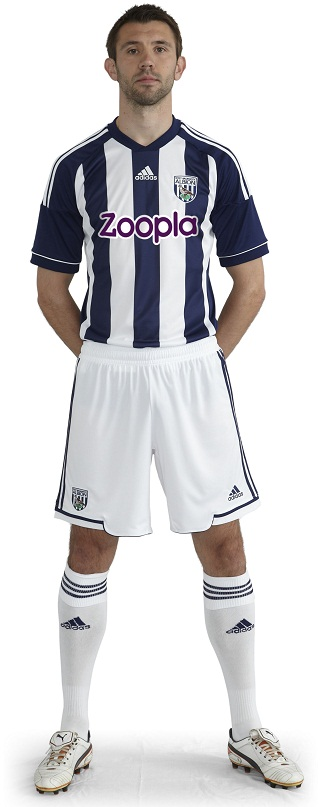 New West Bromwich Albion Kit 2013