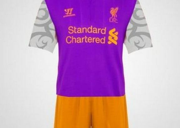 Purple Liverpool 3rd Kit 2012 13 Warrior release Buzz video in preparation for launch of Liverpools 3rd kit