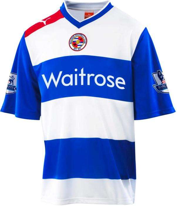Reading FC Home Strip 2012