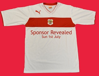 Stevenage FC Home Shirt 12-13