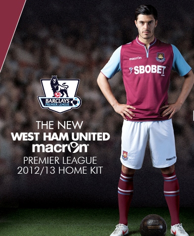 WHUFC Home Kit 12-13