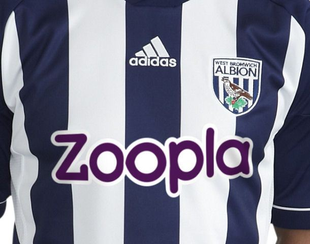 Zoopla West Brom Kit 12-13