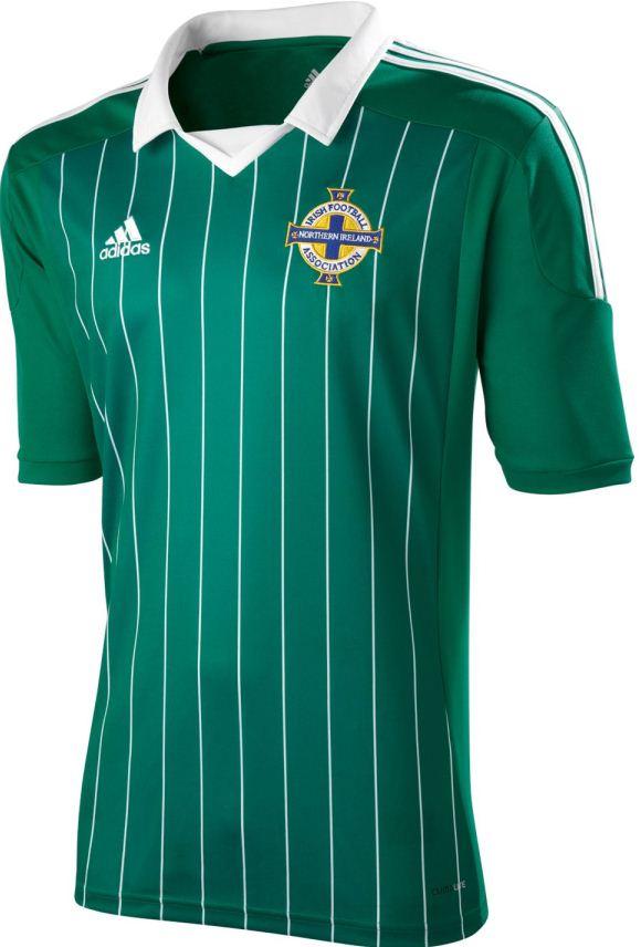 Adidas Northern Ireland Soccer Jersey 2012