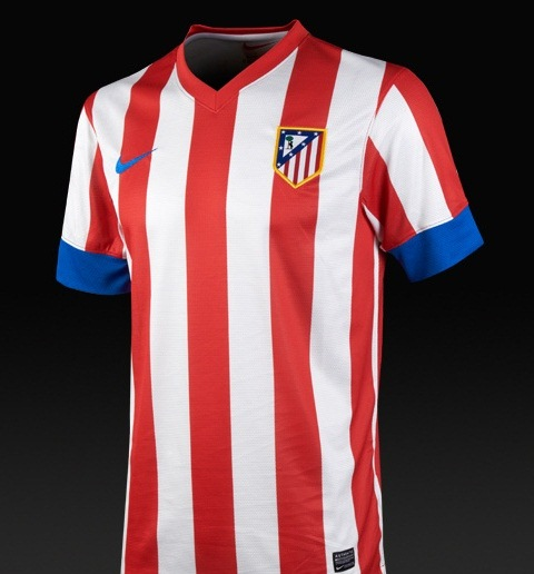 Atletico Madrid Home Shirt 2013