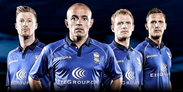 Diadora Birmingham City Kit 2012/13