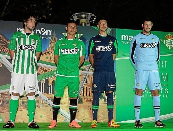 Equipacion Real Betis 2012