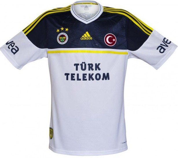 Fenerbahce uitshirt 2012/2013