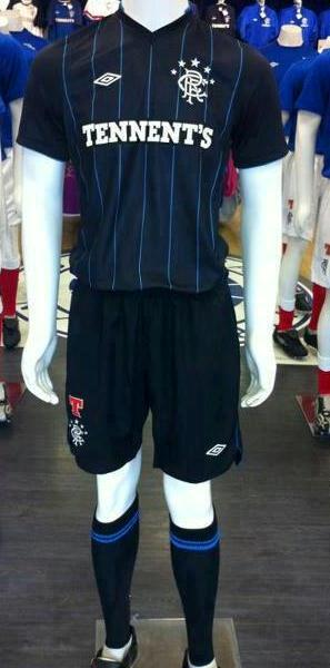 Glasgow Rangers Third Strip 2013 Sevco