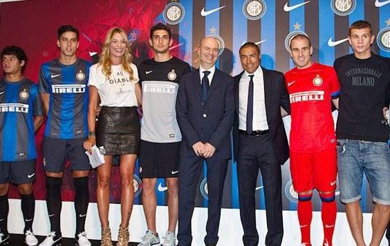 Inter Milan Soccer Jersey 2012